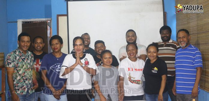 Evaluasi Yayasan Anak Dusun papua 2019
